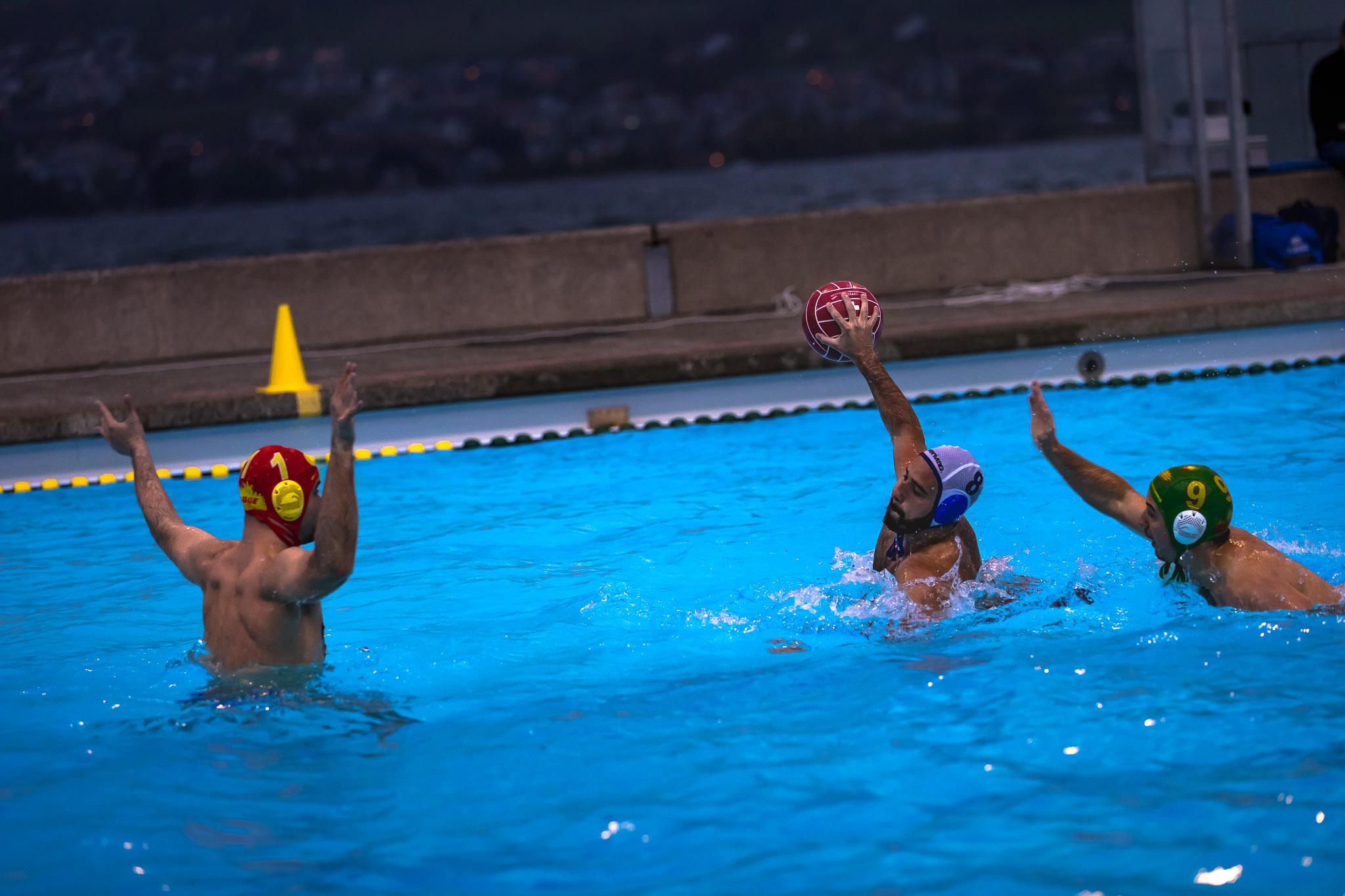 Wasserball Horgen Zürich Schweiz Zürichsee outdoor 30.04.2016