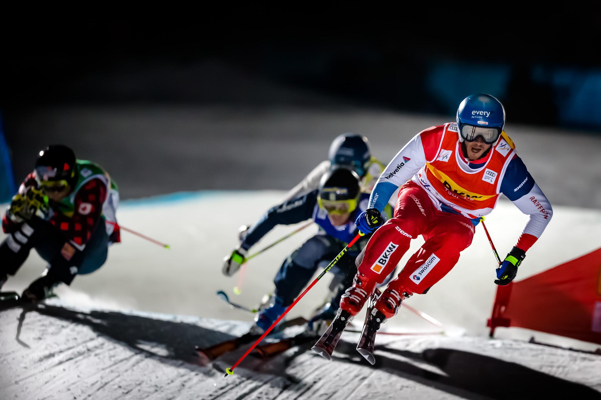 Audi FIS Ski Cross World Cup Arosa 2016 Romain Detraz